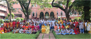Sadhana School Group Picture