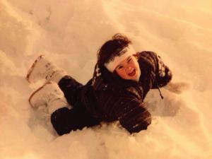 Anne Sophie Koehn - As Toddler in the Snow