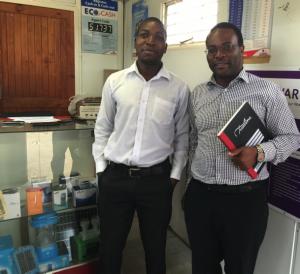 Andrew Nyambayo with Privilege