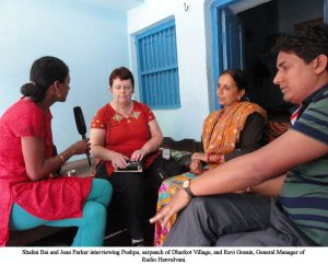 Jean Parker - Shalini Bai & Jean interviewing Pushba
