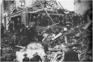 Liverpool - After Bombings of the German Luftwaffe (1940)