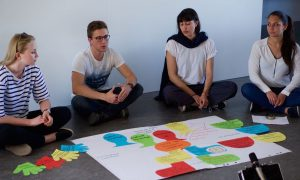 Students presenting Integral Design of Coro Center for Grassroots Leadership