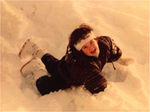 Anne Sophie Koehn - As Toddler in the Snow