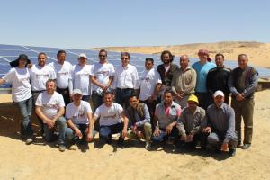 Maximilian Abouleish - Solar Pumping Project Egypt Desert