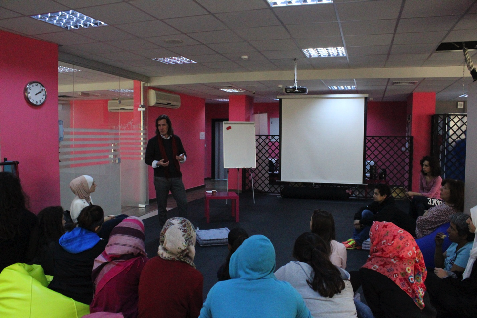 Jordan / Integral Women Empowerment: Seminar with SheFighter
