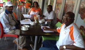 Pundutso Members Matupire, Mamukwa and Chinyuku participating in Cooperative Inquiry sessions