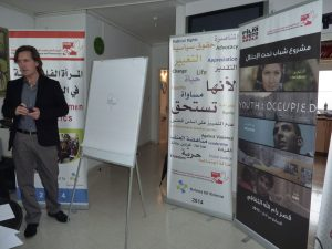 Integral Workshop at the Palestinian Centre for Peace and Democracy in Ramallah